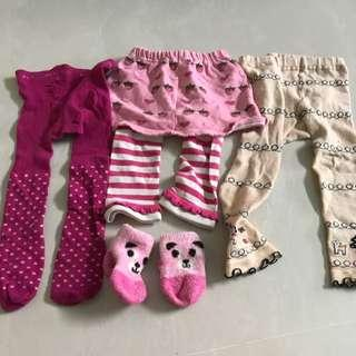 12-18 Months Girls Pants For Winter