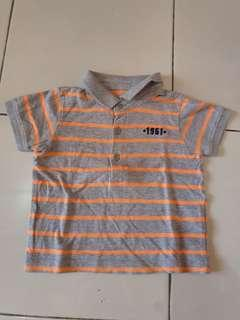 Polo shirt mothercare size 6-9bln
