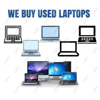 BUYING USED LAPTOP DESKTOP