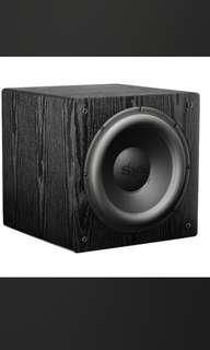 """SVS subwoofer - SB12 NSD - 12"""" sealed sub - more than 3 years warranty left"""