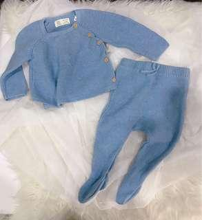 Zara knitted Set top and pant
