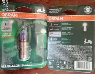 Osram BA20d motorcycle Lamp