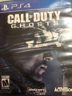 PS4 Games for Sale Call of Duty Ghosts