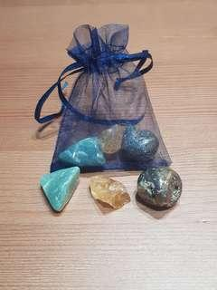 Lucky charm and wealth pouch