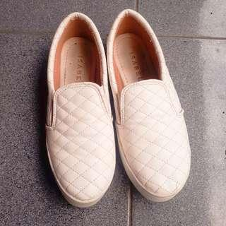 White Shoes slip on