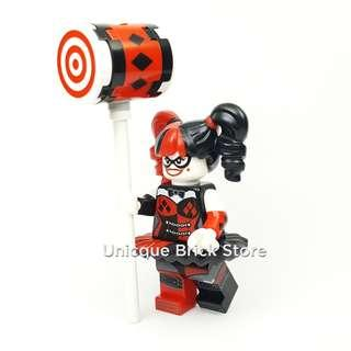 #EndgameYourExcess Lego Batman Movie #70916 Minifigure - Harley Quinn (Black and Red Tutu)
