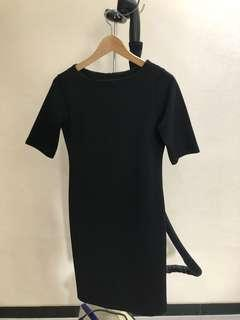 The Executive Black Formal Dress