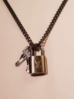 LV padlock for necklace