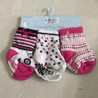 0-6 Months Baby Girl Socks