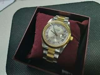 S2 Square Quartz Classic  Fashion watch  時款 手錶
