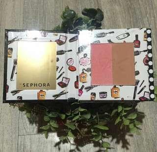Sephora Compact Blush and eyeshadow