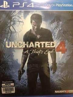 PS4 Games for Sale Uncharted 4