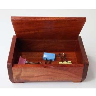 🚚 Handmade solid wood Business Card box or Stationery box from Burma Myanmar.