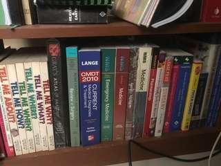 Medbooks for sale!