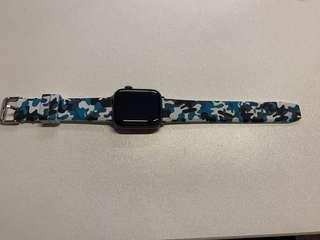 Iwatch camo silicone watch band