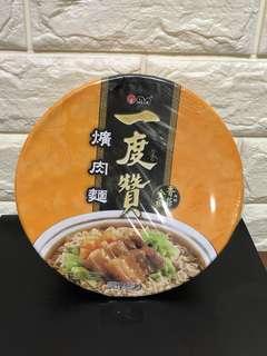 🚚 Taiwan instant noodle, Yi Du Zen, Pork flavor, bowl type (一度贊 爌肉麵)