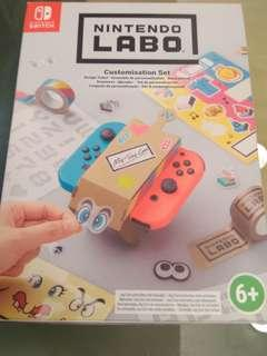 Nintendo labo sticker set(new)