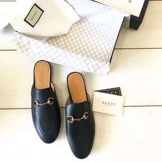 2b6470ee594 Gucci Black slip on