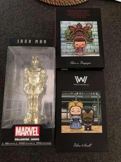 🚚 Marvel funko loot crate lot