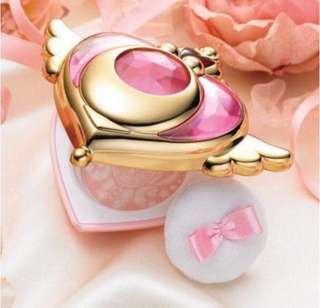 全新 包郵 Creer Beaute 美少女戰士 幻彩月光變身胭脂鏡盒