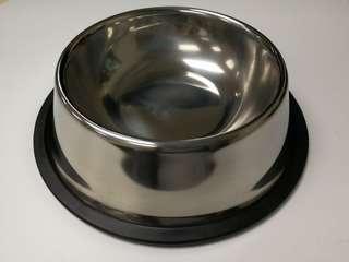 100%new全新貓狗不銹鋼防滑細糧食碗