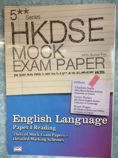 5** series HKDSE MOCK EXAM PAPER English Language paper1 reading