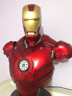 Ironman 鋼鐵俠 一比二 胸像