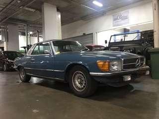 Mercedes Benz SLC450 SR