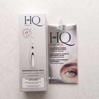 全新 包郵 HQ 眼部肌膚再生器 連抗老防皺眼霜10ml