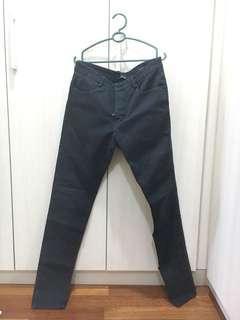 ZARA MAN black skinny pants