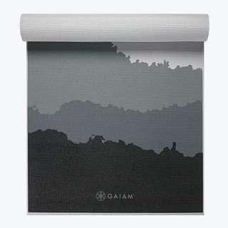 Gaiam Premium Granite Mountains Yoga Mat (6mm)