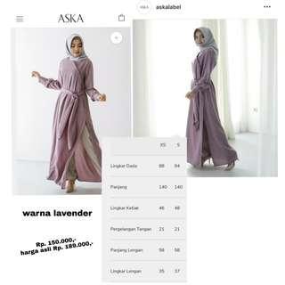 Lavender Gayatri by Aska Label