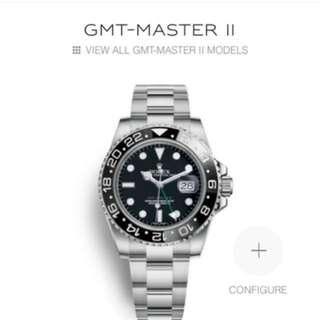CHEAPEST LNIB GMT Master II Local AD