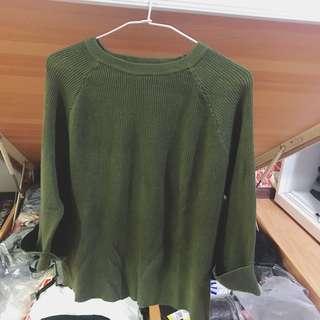 🚚 七分袖針織毛衣(不議價不含運)