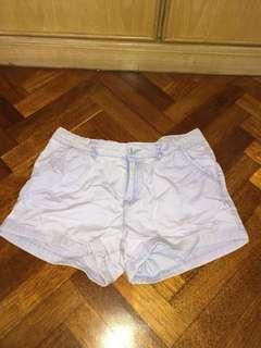 Purple Lilac Shorts FREE POSTAGE