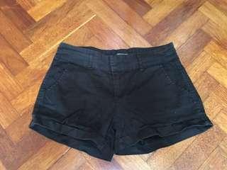 Cotton on Black shorts FREE POS