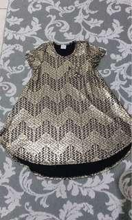Dress batik mewah