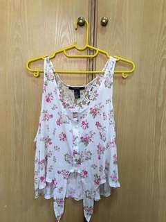 Forever 21 Sleeveless Casual blouse FREE POS