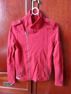 Body Glove Red Biker Jacket