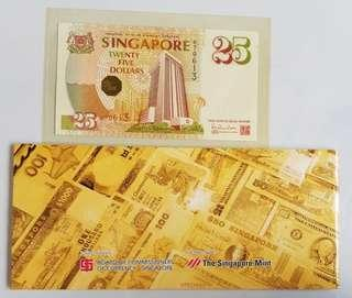 🚚 S$25 Notes (SG 25th Anniversary)