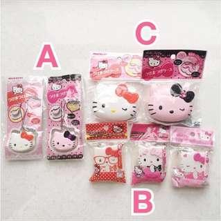 全新 包郵 Hello Kitty 盒子 (可放假睫毛)