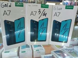 Oppo A7 RAM 3 GB INTERNAL 64GB