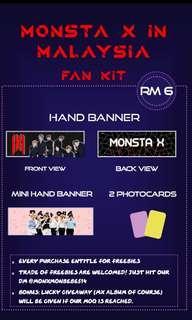 MONSTA X FANKIT WORLD TOUR WE ARE HERE