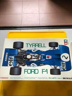1:12 Tamiya Tyrrell Ford F-1