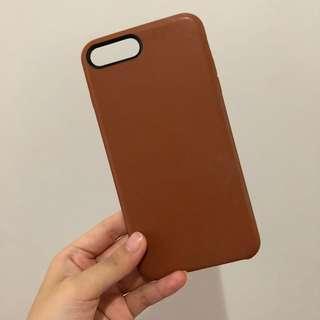 iphone 7 pls / 8 plus leather case