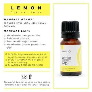 Minyak Herbal Lemon Essential Oil