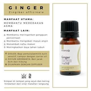 Minyak Herbal Ginger Essential Oil