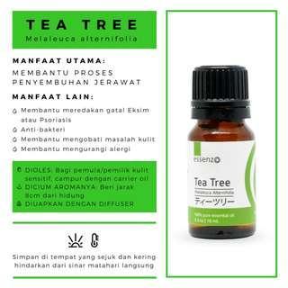 Minyak Herbal Tea Tree Essential Oil