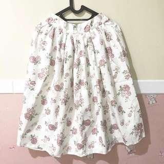 Midi vintage style skirt