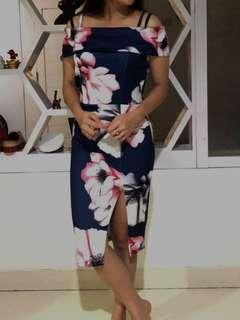 Flowery dress sabrina